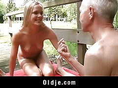 Monica Thu is blonde, young and nosey and he is an oldman with experience and..