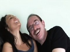 Young amateur analy creampied by grandpa