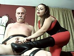 Steaming porn industry star domination with orgasm