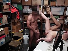 Shoplyfter- Teenager Thieves Suck Cock and Get Boned