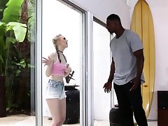 Enormous Penis Black Dude Tearing up Lily Rader