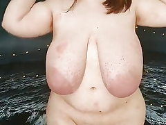 Fat BBW Teenie with ginormous bosoms