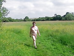 My Kinky Naked Walk Throughout an Open Realm
