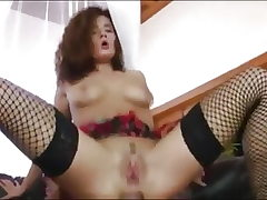 Webcam doll gets help from a big cock