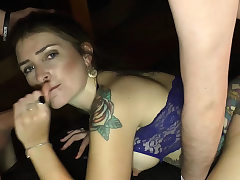 German huge creampie jizz inwards gangbang orgy