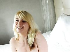 Outstanding french blonde rails hard stiffy on web cam